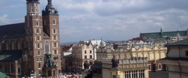 Bygninger i Krakow