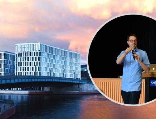 Aaron Lewin på Norgesbesøk
